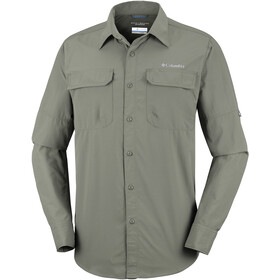 Columbia Silver Ridge II - T-shirt manches longues Homme - olive